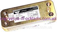 Теплообм.втор/ SWEP-Zilmet 12 пл. 142 мм (без ф.у, EU) Ariston BS, Clas, Genus, арт. 65116314B, к.з. 0826/1
