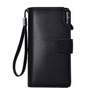 Кошелек S1063 Черный Wallerry | Мужской кошелек-портмоне