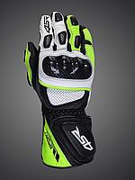 Мотоперчатки 4SR Sport Cup II Reflex (зелёные)