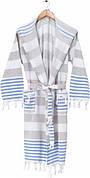 Халат для сауны Arya Lumi женский хлопок р.S бежевый арт.TR1006426