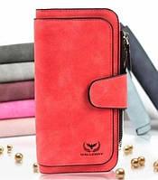 Кошелек 2345 Красный Wallerry | Женский кошелек | Портмоне женское