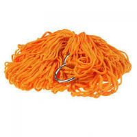 Гамак-сетка BTB на кольцах 270х80 см Orange (5786)