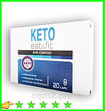 Keto Eat & Fit BHB - Комплекс для похудения на основе кетогенной диеты (Кето Ит Энд Фит), фото 4