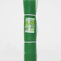 Сетка забор Клевер - 1.5 х 10 м (ячейка ромб 30 х 30 мм) Зеленый (Д-30/1,5/10з)