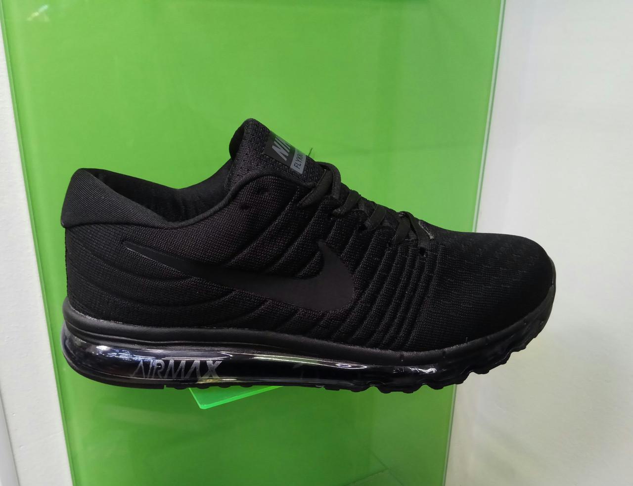 Чоловічі кросівки в стилі Air Max 2017 чорний, розміри з 41 по 45