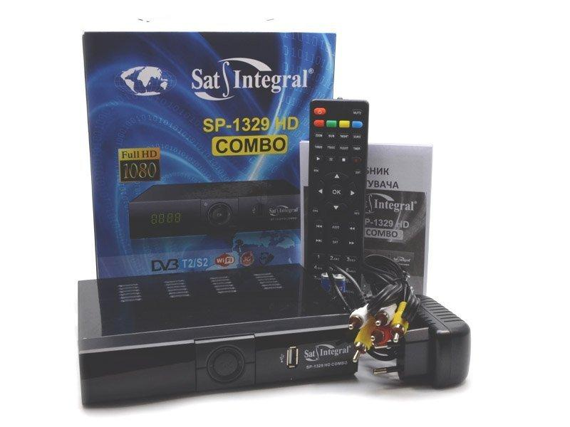 Полностью Настроенный S1329 HD Combo Sat Integral