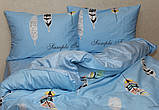 2-спальный комплект постельного белья с компаньоном S363 ТМ TAG сатин хлопок ФОТО, фото 2