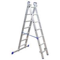 Лестница алюминиевая двухсекционная Elkop VHR Hobby 2x12 ступеней