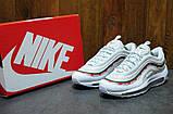 Женские кроссовки Nike Air Max 97 Undefeated белый лак, фото 3