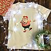 Мужская футболка с принтом - Карл