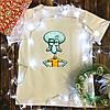 Мужская футболка с принтом - Сквидвард