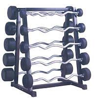 Набор фиксированных штанг W-обр FBW 10-50 кг Luxon Sport
