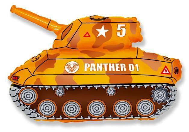 Фигура FLEXMETAL-ФМ Танк коричневый (УП)