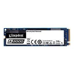 Накопитель SSD  500GB Kingston A2000 M.2 2280 PCIe NVMe 3.0 x4 3D TLC (SA2000M8/500G)