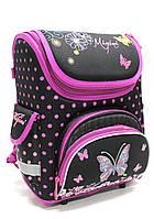 """Шкільний каркасний рюкзак для дівчинки """"Migini"""" 8818"""