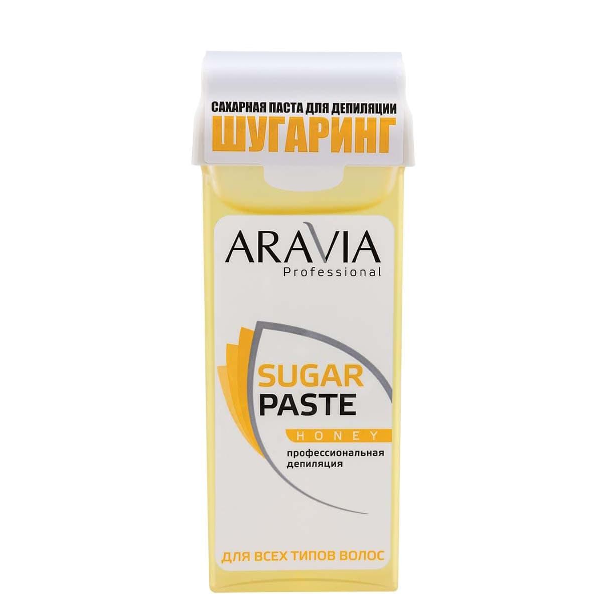 """Сахарная паста для шугаринга в картридже """"Медовая"""" Aravia Professional 150 г"""
