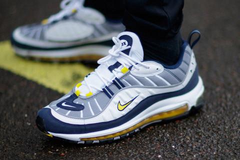 Мужские кроссовки в стиле  Air Max 98 OG Gray White