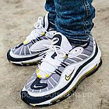 Мужские кроссовки в стиле  Air Max 98 OG Gray White, фото 2