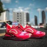 Женские кроссовки в стиле Air Max 720 red, фото 2