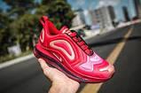 Женские кроссовки в стиле Air Max 720 red, фото 3