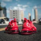 Женские кроссовки в стиле Air Max 720 red, фото 4