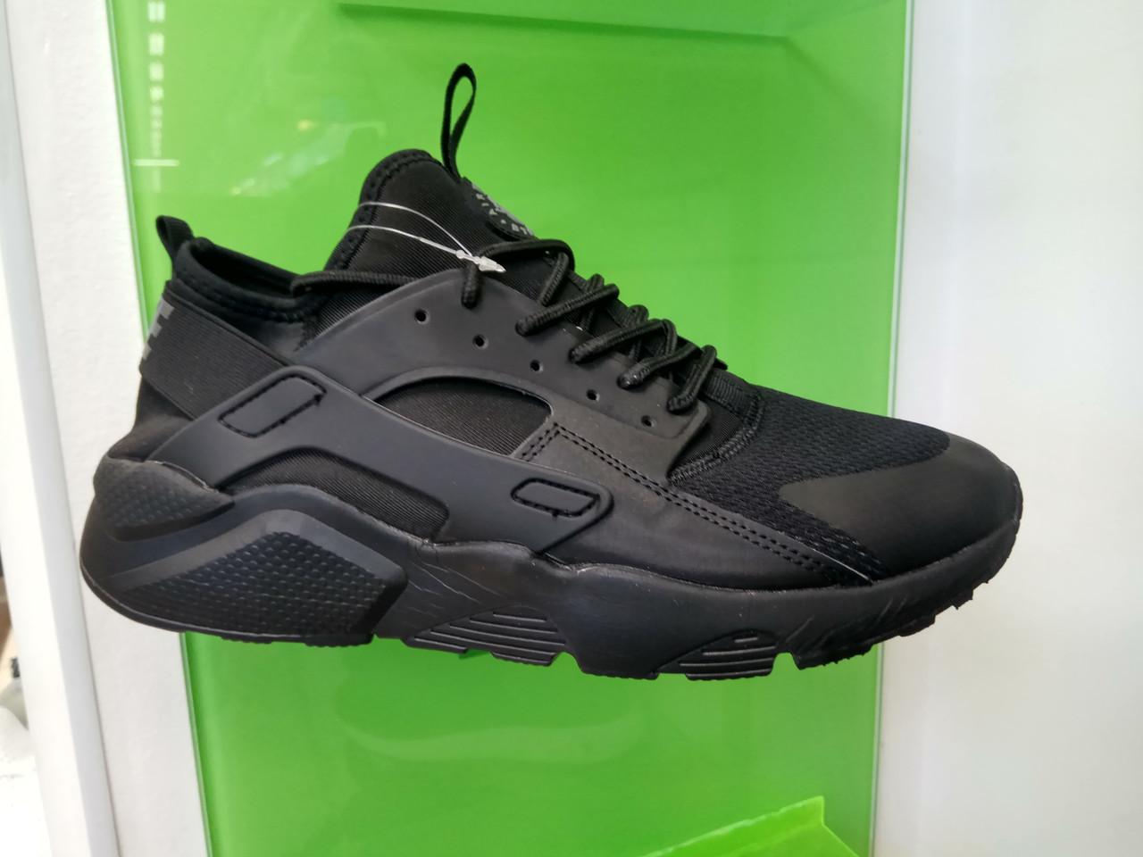 Мужские кроссовки в стиле  Huarache Black черные , размеры с 41 по 46
