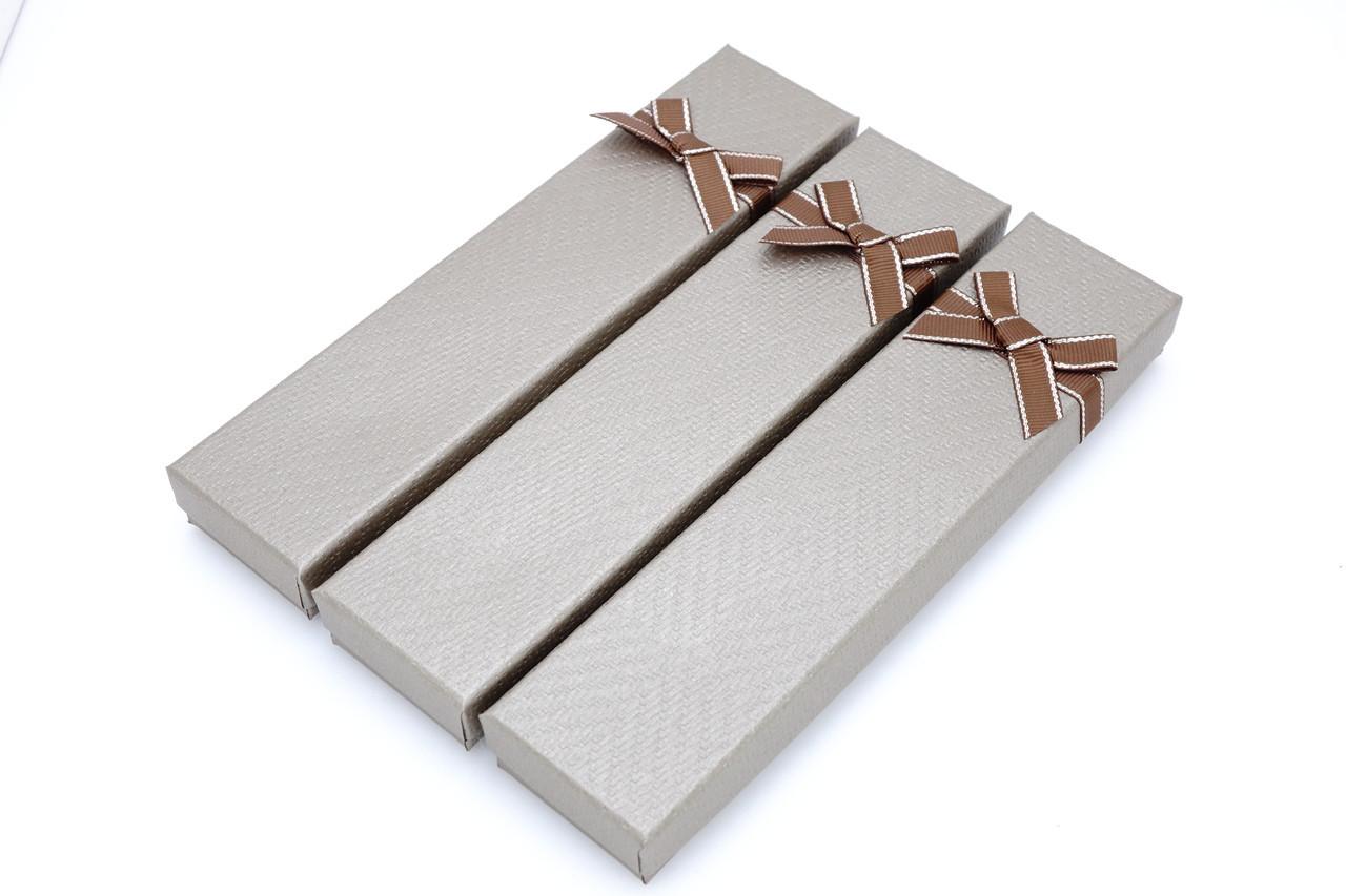 Бумажная коробка под браслет или цепочку Boxshop