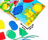 Игра с болтами Vladi Toys Парк развлечений для самых маленьких VT2905-04 укр, фото 3