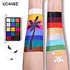 """15 цветов масляные краски для боди-арт для лица, тела: макияж на вечеринку """"Cruise UCANBE"""" make up 80 грамм, фото 5"""
