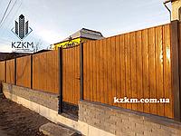 Де купити профнастил для будівництва паркану?