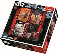 Дитячі іграшки головоломки-пазли з картону Puzzle - 4in1 - Good vs bad / Lucasfilm Star Wars Episo