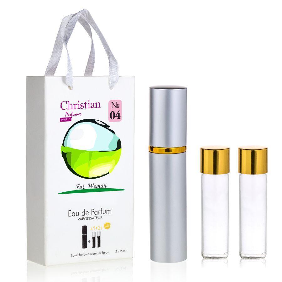 Подарочный набор парфюмерии 3x12 ml Christian for women K-155 № 004