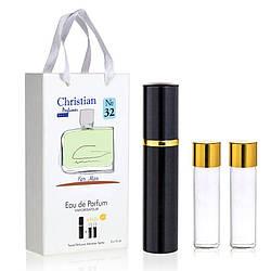 Подарочный набор парфюмерии 3x12 ml Christian for men K-155 № 032