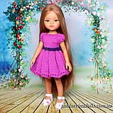 Платье с рукавом фонарик для кукол Паола Рейна, фото 2
