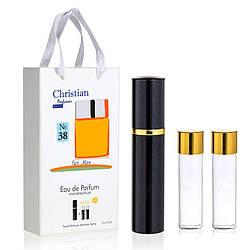 Подарочный набор парфюмерии 3x12 ml Christian for men K-155 № 038
