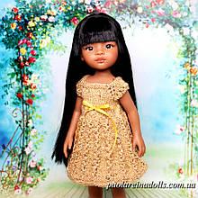 Сукня з паєтками Золото Клеопатри для ляльок Паола Рейну