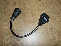 SCANIA DAF Autocom TCS Переходник 16 pin ->16pin Диагностика CDP+