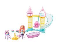 Игровой набор Барби Дримптопия Замок русалочки Челси и ее питомца Barbie Dreamtopia Chelsea Mermaid Playground