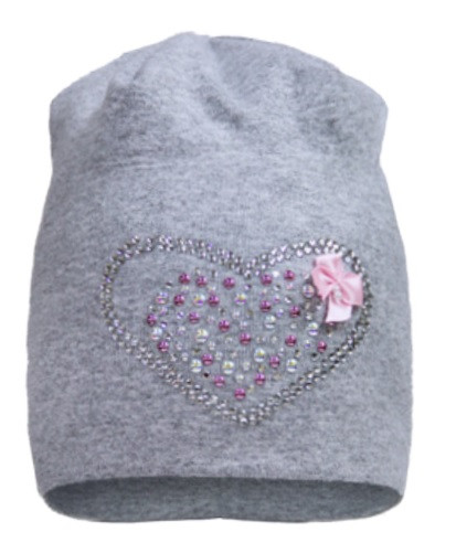 Демисезонная шапка для девочки р.42,44 ТМ David's Star