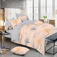 Комплект постельного белья Сатин двуспальный KWL-1962-A-B