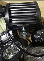 Фары LED 36W. противотуманки светодиодные. 10 на 8 см. Металл. 12-24V, фото 2