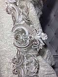 Набор для сауны с вышивкой и кружевом  женский 3 предмета Just home белый, фото 3
