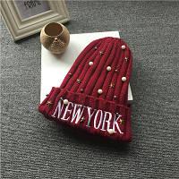 Шапка женская New York 6 расцветок