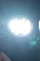 Фары LED 24W мото со тробоскопом ближний свет диаметр 11см. 12-24V, фото 3