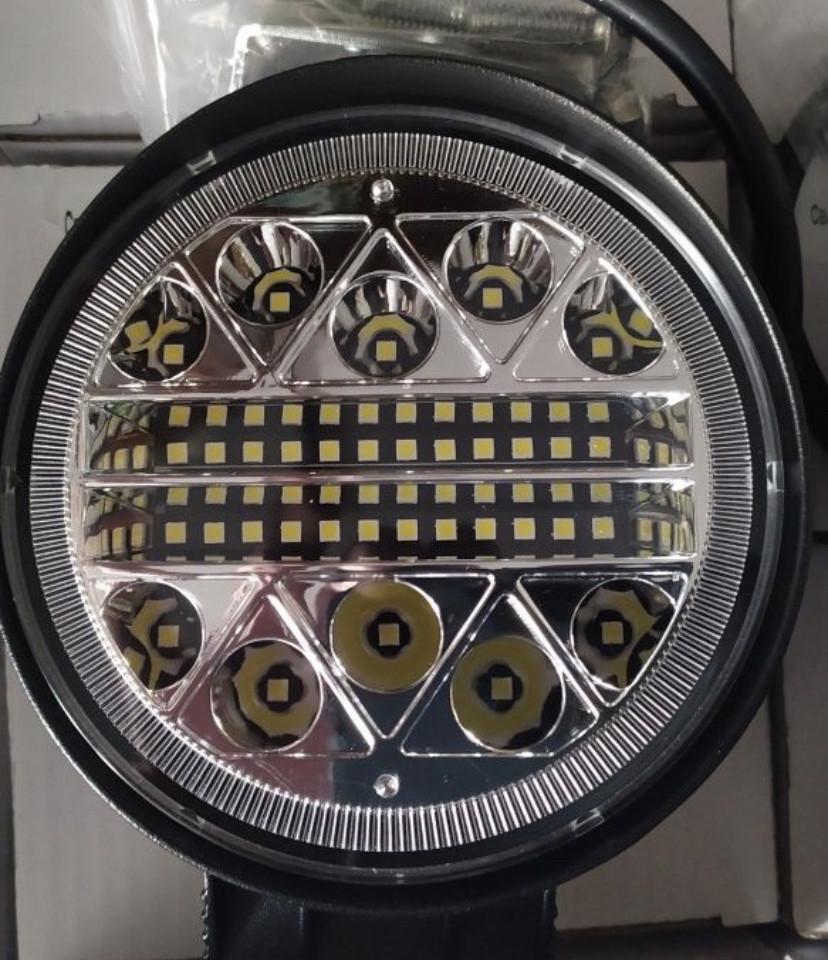 Фары LED 24W мото со тробоскопом ближний свет диаметр 11см. 12-24V