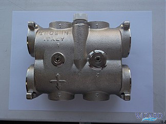 Гидромодуль 2 выхода без балансировочного клапана