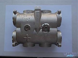 Гидромодуль 2 выхода без балансировочного клапана, фото 2