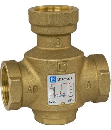 LK 823 Термический 3-ходовой наливной клапан Thermovar 1 ВВВ  55°C, фото 2