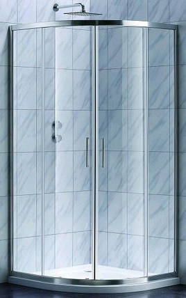S90RG Душевая кабина STYLE полукруглая 900x900x1900 мм стекло grape, фото 2