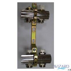 Колекторна група з вимикачами і термо клапанами м30х1,5, 6 вих.